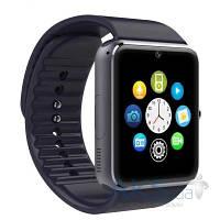 Умные часы UWatch Smart GT08 Black with Black strap