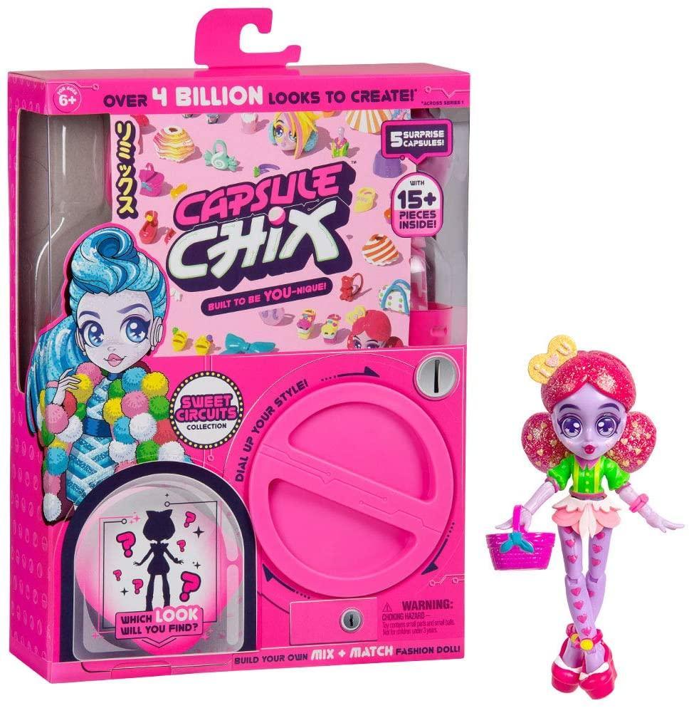 Набор капсула чик с куклой Capsule Chix Sweet Circuits, Оригинал из США