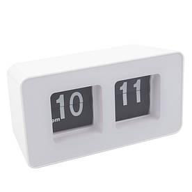 Перекидные часы Flip Clock настольные Белые (FC-7w)