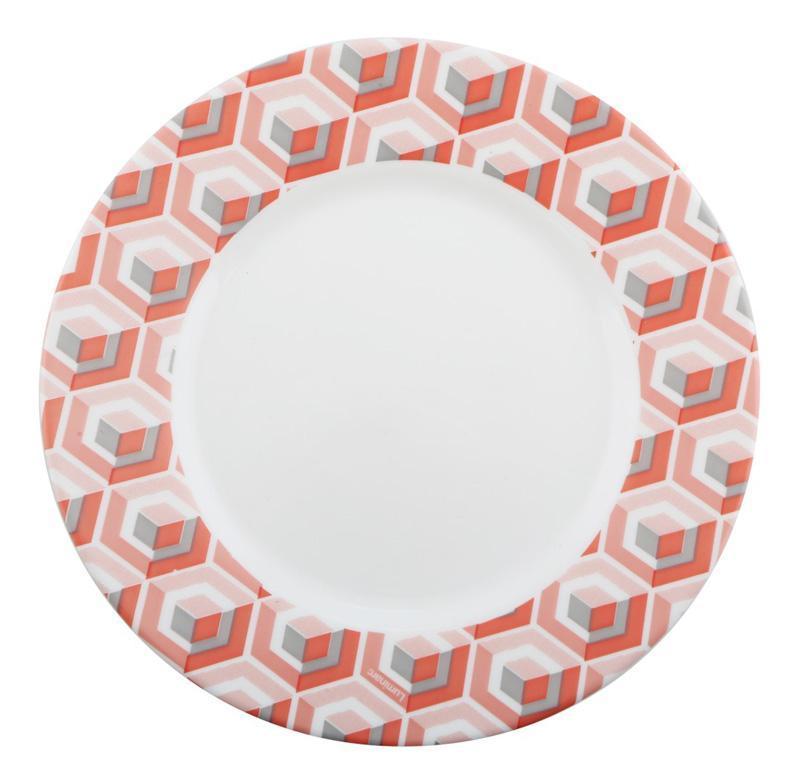 Набор 6 десертных тарелок Luminarc Astelia Pink Ø19см