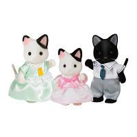 Набір Sylvanian Families Сім'я котів у смокінгу (5306)