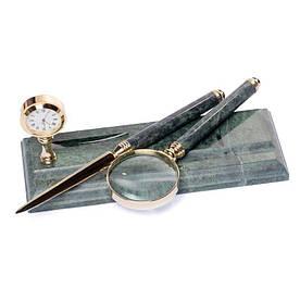 Набір лупа ніж для розтину листів 24х10 см BST 540044