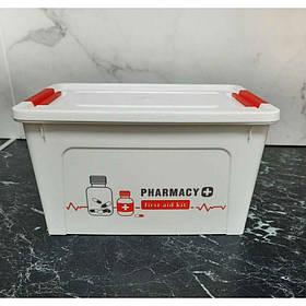 Органайзер универсальный Аптечка 3,5 л Белый Алеана 127006