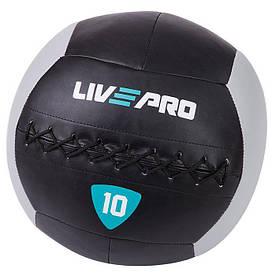 Мяч для кроcсфита LivePro Wall Ball (LP8100-10)