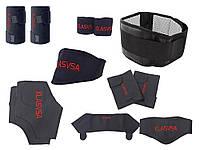 Опт. Набор накладок Klasvsal на шею спину запястья колени локти плечи турмалиновые 11 шт XL