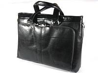Деловая кожаная сумка с чехлом для ноутбука Bostantent (51010-1)