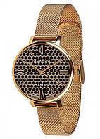 Жіночі наручні годинники Guardo B01107(m) GB Золотистий