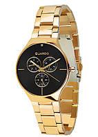 Жіночі наручні годинники Guardo B01398(m) 1-GB Золотистий