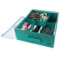Органайзер для обуви на 6 пар ORGANIZE Lzr-O-6 лазурь, фото 1