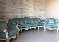 Диван и два кресла. Комплект мягкой мебели из Италии.Барокко.