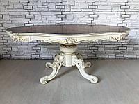 Итальянскии обеденный стол  с фигурной столешницой., фото 1