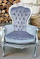 Кресло барокко, Италия, после реставрации.