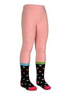 Колготки детские махровые Bross 9317 разные носки