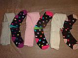 Колготки дитячі махрові Bross 9317 різні шкарпетки, фото 2
