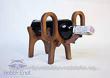 """Подставка под вино """"Слон"""""""