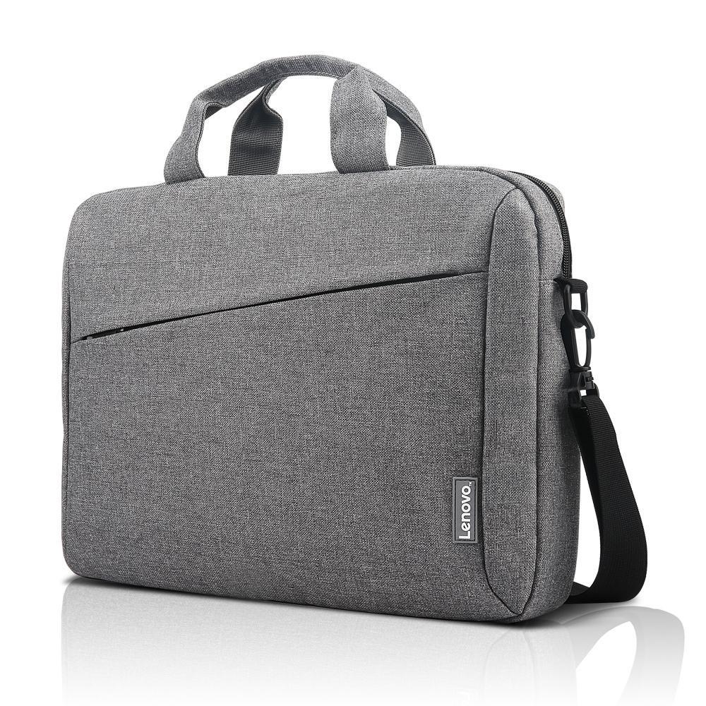 """Сумка для ноутбука 15.6"""" Lenovo Casual T210 Gray Отсек для документов, отсек для аксессуаров, ремни для"""