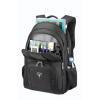 """Рюкзак для ноутбука 17"""" SUMDEX PON-377 Black боковые карманы"""