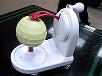 Кухонный аксессуар для очистки кожуры с фруктов - Механическая Яблокочистка «Серпантин» Аpple Peeler! Хит
