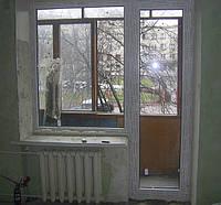 Балконный блок (выход на балкон) Trocal в Киеве купить недорого. Цена на балконный блок Киев