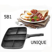 Сковорода 5в1 UNIQUE UN-4021 38*31см