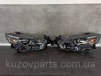 Фара передняя правая левая AFS Mazda 6 2017 2018 2019 GJS151031D