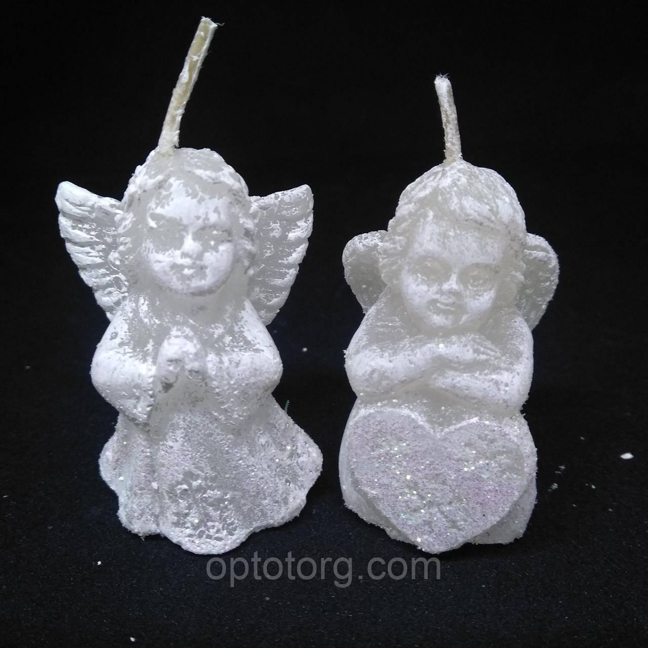 Свечи декоративные  Ангелочки маленькие 5,5*4 мм