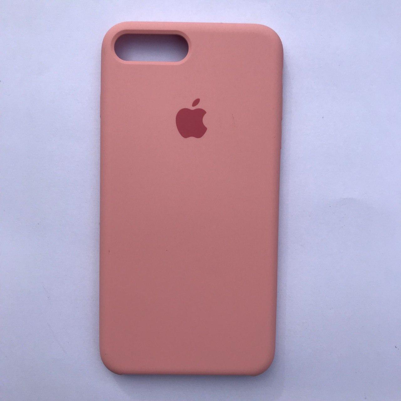 Чехол Silicone Case для Apple iPhone 7 Plus, 8 Plus Rose Pink