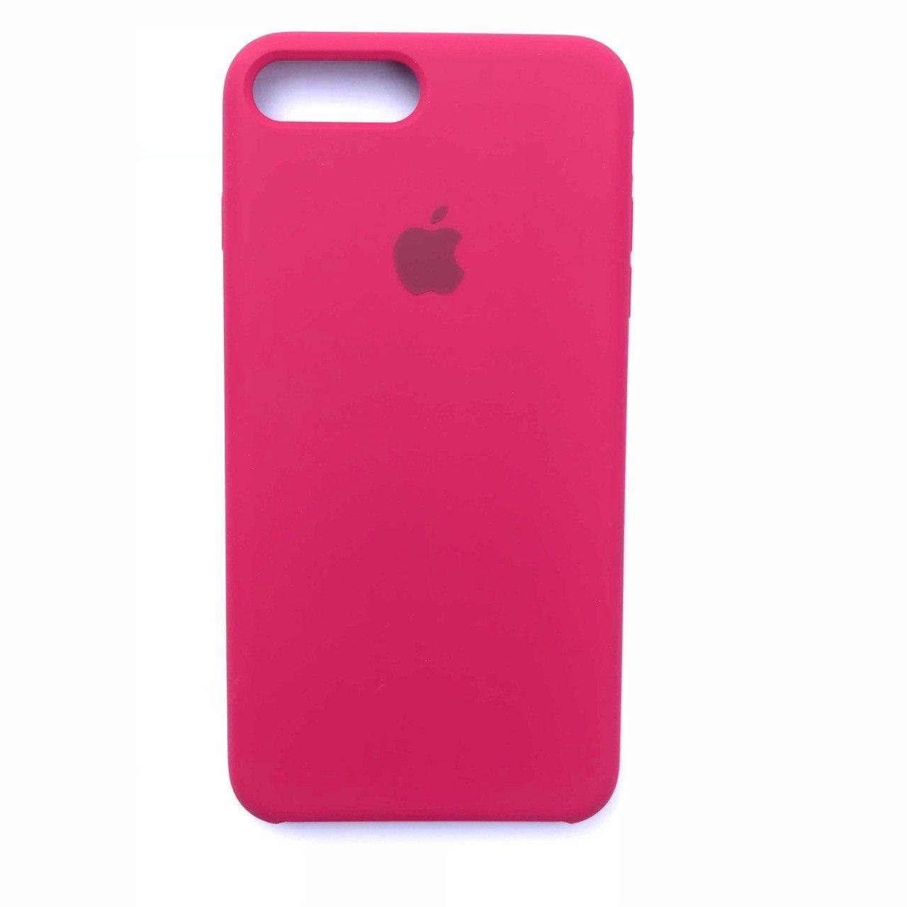 Чехол-накладка Silicone Case для Apple iPhone 7 Plus iPhone 8 Plus Rose Red