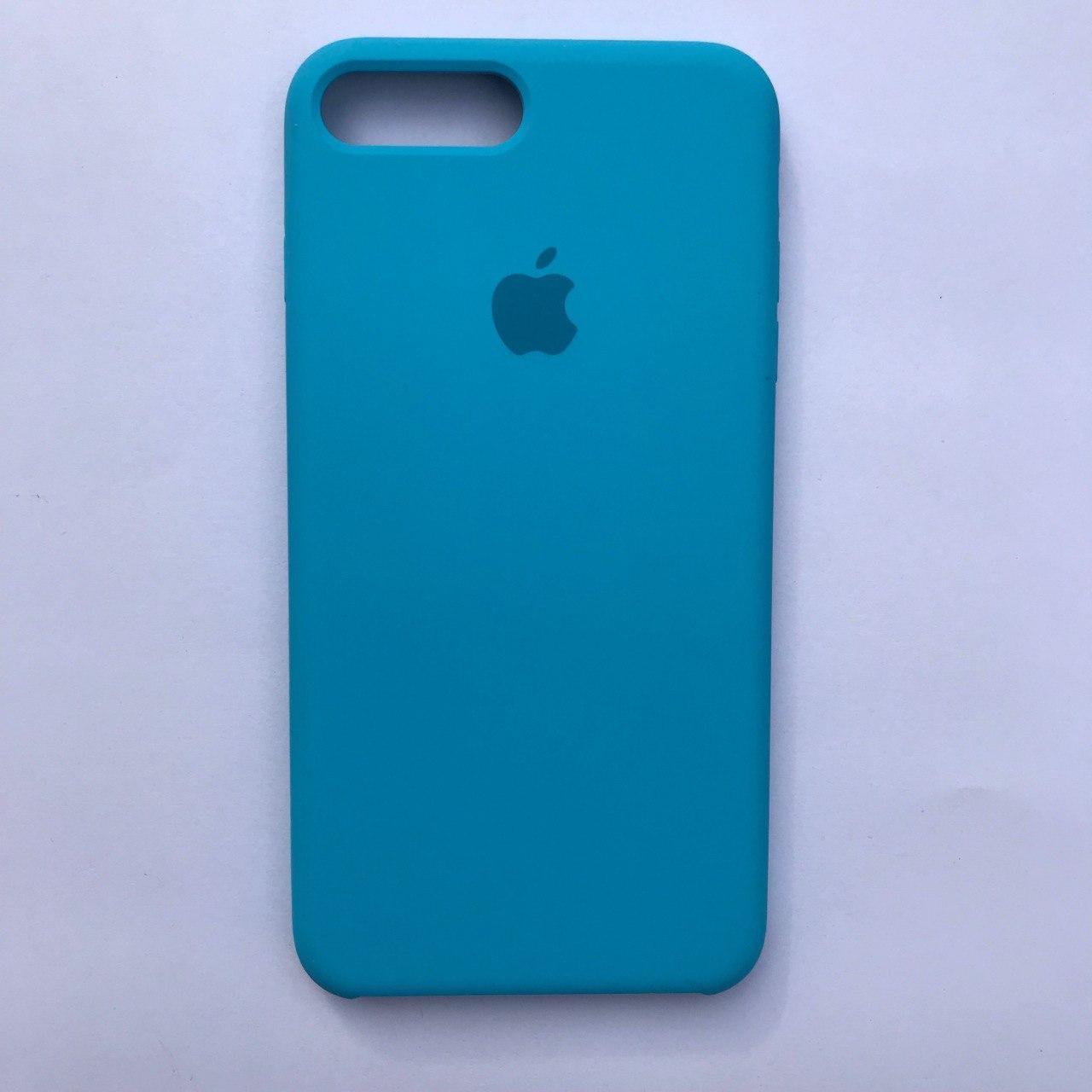 Накладка Silicone Case для Apple iPhone 7 Plus iPhone 8 Plus Sky blue