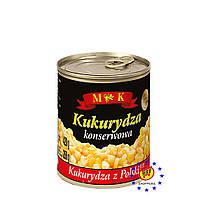 Консервированная кукуруза сладкая M&K 400г