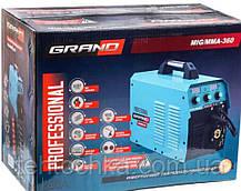 Сварочный полуавтомат GRAND MIG-MMA-360, фото 3