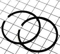 Кольца поршневые для бензопилы Stihl MS-250 42,5мм