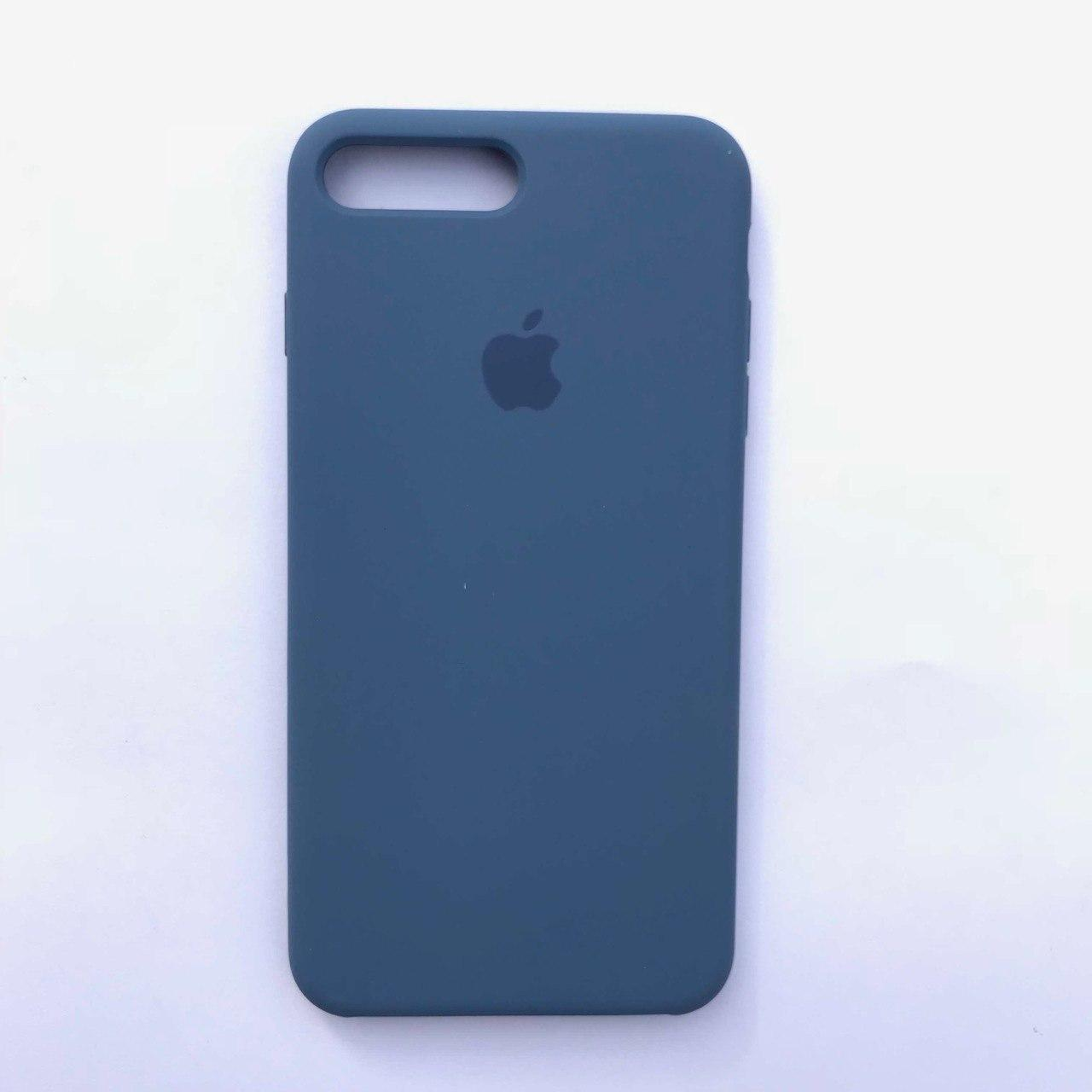 Чехол-накладка Silicone Case для Apple iPhone 7 Plus iPhone 8 Plus Vivid blue