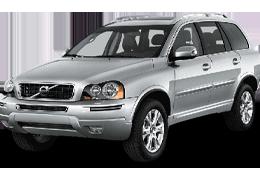 Дефлекторы на боковые стекла (Ветровики) для Volvo (Вольво) XC90 I 2002-2014