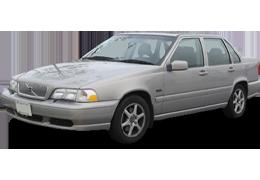 Дефлекторы на боковые стекла (Ветровики) для Volvo (Вольво) S70 1997-2000