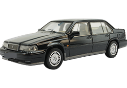Дефлекторы на боковые стекла (Ветровики) для Volvo (Вольво) 940 1990-98