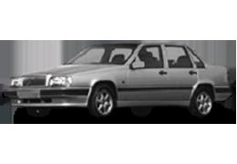 Дефлекторы на боковые стекла (Ветровики) для Volvo (Вольво) 850 1991-97