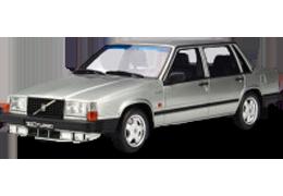 Дефлекторы на боковые стекла (Ветровики) для Volvo (Вольво) 740 1984-1992