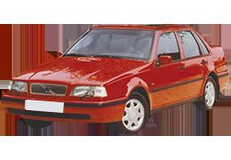 Дефлекторы на боковые стекла (Ветровики) для Volvo (Вольво) 460 1988-1994