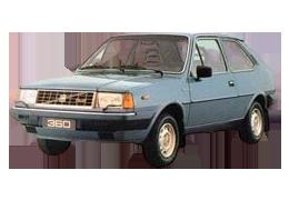 Дефлекторы на боковые стекла (Ветровики) для Volvo (Вольво) 360 1983-1991