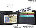 Кошелек кожаный Tommy Hilfiger портмоне art903072 (Черный), фото 3