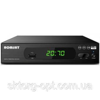 Цифровий ефірний DVB T2 приймач ROMSAT T2070