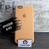 Силиконовый чехол для iPhone 6/6S Soft Оранжевый