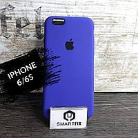 Силиконовый чехол для iPhone 6/6S Soft Фиолетовый