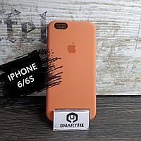 Силиконовый чехол для iPhone 6/6S Soft Оранжевый, фото 1