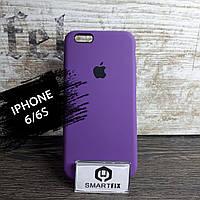 Силиконовый чехол для iPhone 6/6S Soft Фиолетовый, фото 1