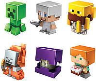 Набор мини-фигурок Майнкрафт Mattel Minecraft All-Stars Mini Figure