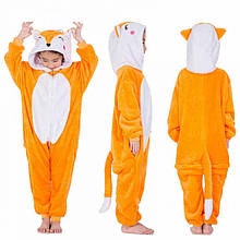 Детская пижама кигуруми Лисичка 140 см