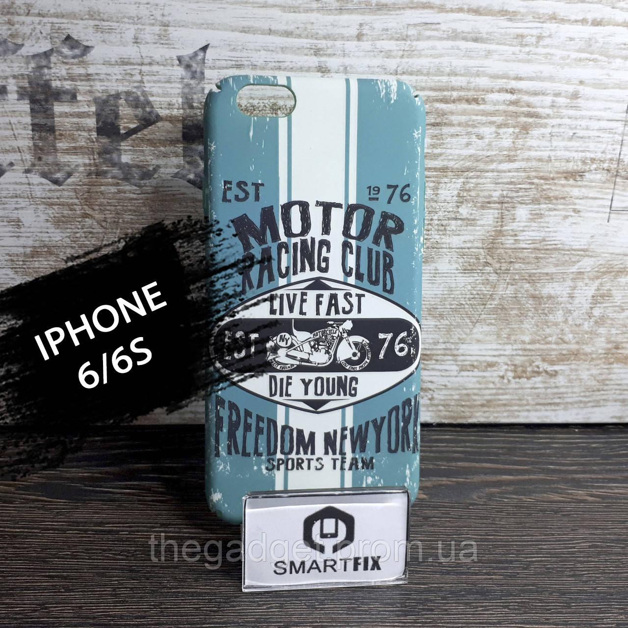 Силиконовый чехол с рисунком для iPhone 6/6S