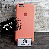 Силиконовый чехол для iPhone 6/6S Soft Кораловый, фото 1